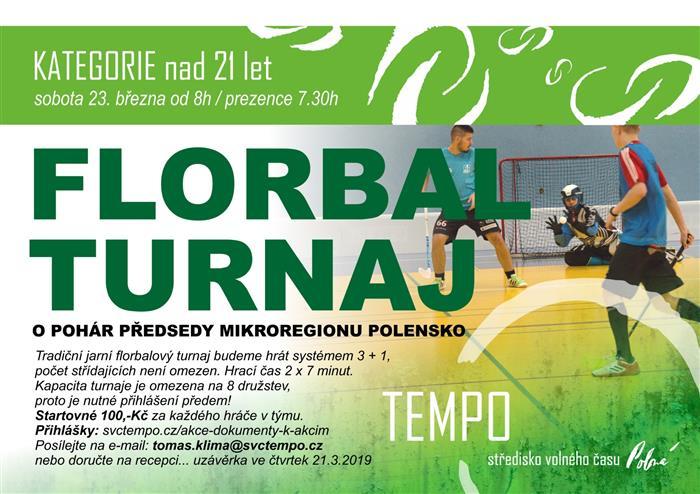 3cd4de68ba Turnaj ve florbale  Kategorie nad 21 let  Informační centrum Polná